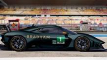 La Brabham BT62 su cui nascerà la vettura per il Wec