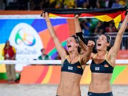 Il successo di Rio de Janeiro per le due tedesche