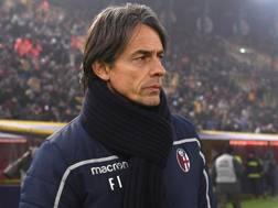 Filippo Inzaghi, tecnico del Bologna. Lapresse