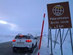 Il Circolo Polare in vista per la Citroen C5 Aircross