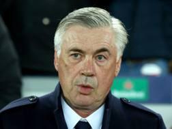 Carlo Ancelotti, tecnico del Napoli. Getty