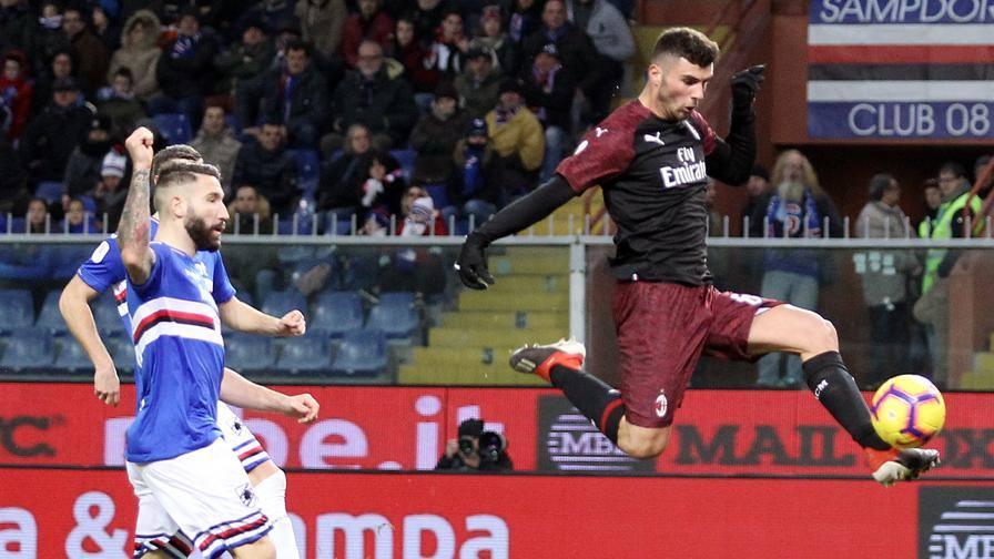 Entra Cutrone e il Milan vola Samp k.o. ai supplementari