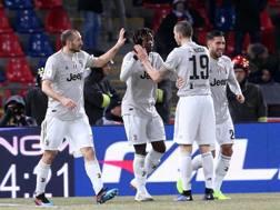 Bologna-Juventus. Getty