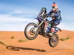 Alessandro Botturi (Yamaha) in azione - Alessio Corradini/Africa Eco Race