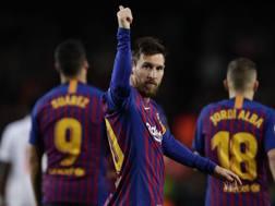 Lionel Messi, attaccante del Barcellona. Getty