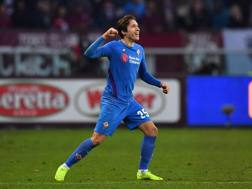 Federico Chiesa, attaccante della Fiorentina. LAPRESSE