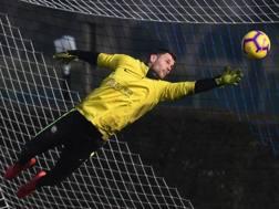 Daniele Padelli, 34 anni. Ancora nemmeno un minuto di gioco in questa stagione con la maglia dell'Inter. getty