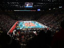Pienone per il volley al Mediolanum Forum: 12343 spettatori. Galbiati