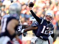 Tom Brady, 41 anni. Afp