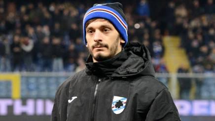 Manolo Gabbiadini, attaccante della Sampdoria. Getty
