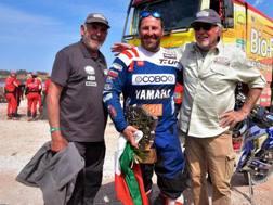 Alessandro Botturi, vincitore delle moto dell'Africa Eco Race 2019