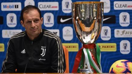 Massimiliano Allegri, 51 anni, allenatore della Juventus. Afp