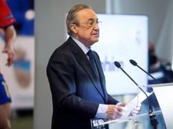 Florentino Pérez, presidente del Real Madrid. Getty