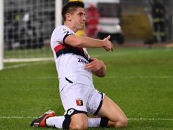 Krzystof Piatek, 23 anni, attaccante polacco del Genoa. LaPresse