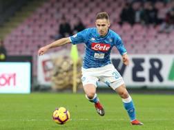 Marko Rog, centrocampista del Napoli. GETTY