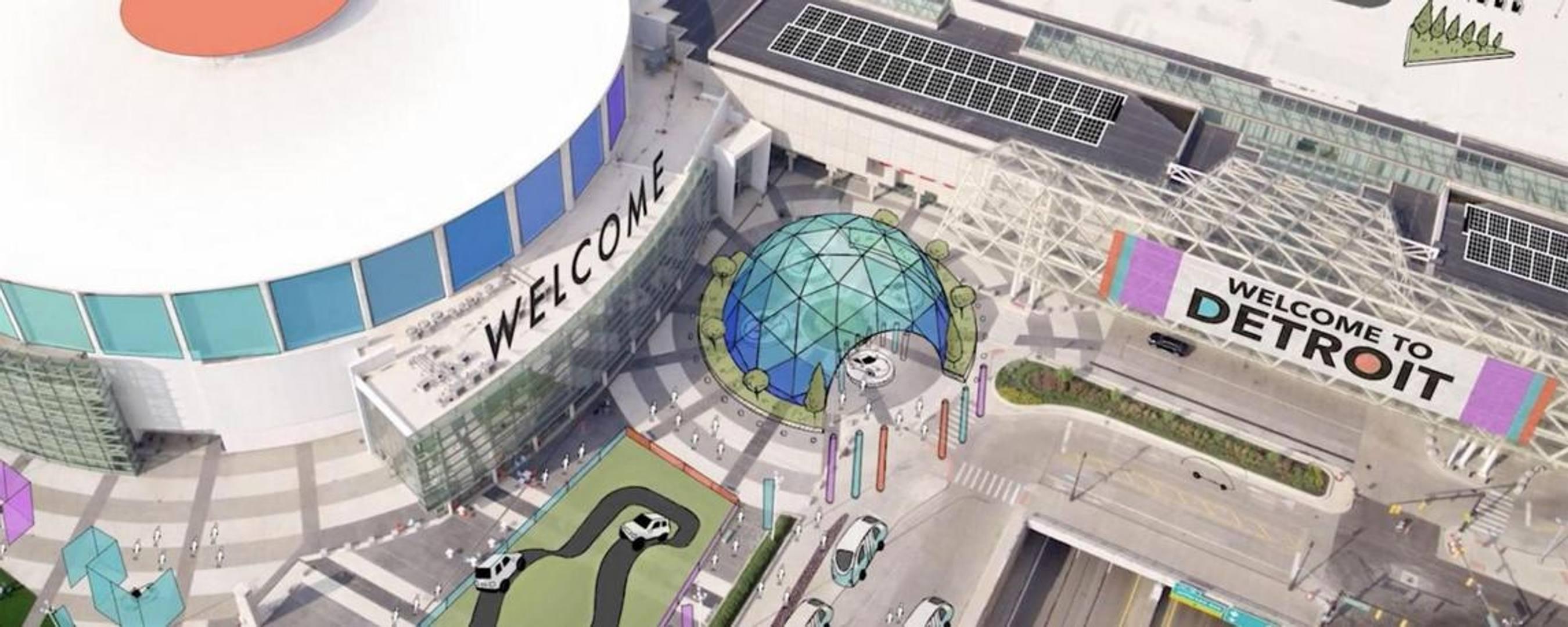 La sede North America International Auto Show