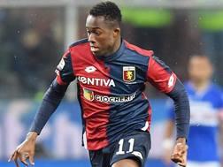 Christian Kouame, 21 anni, attaccante del Genoa. Lapresse.