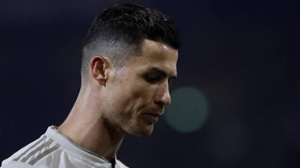 Crisitiano Ronaldo, 33 anni, attaccante della Juventus. AP