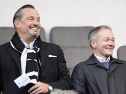 Dean Holdsworth e Clive Richardson, rispettivamente direttore operazioni calcistiche e presidente del Palermo. Getty