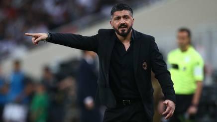 Rino Gattuso, tecnico del Milan. Lapresse