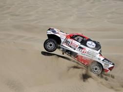 La Toyota di Nasser Al-Attiyah. Ap