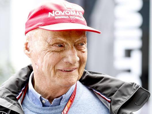Niki Lauda, 70 anni il 22 febbraio. Epa