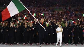 Federica Pellegrini, 30 anni, portabandiera all'Olimpiade di Rio 2016. Getty