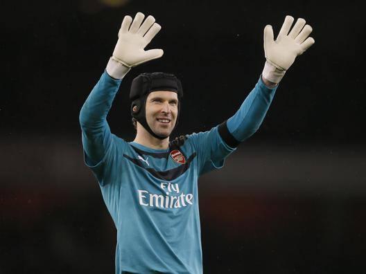 Petr Cech, 36 anni, sta per chiudere la carriera. Ap