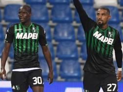 Khouma Babacar e Kevin-Prince Boateng. Lapresse