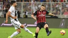 Emre Can, 25 anni, centrocampista tedesco ex Liverpool, primo anno alla Juve, in azione in Supercoppa AFP