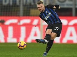 Milan Skriniar, difensore dell'Inter. Getty
