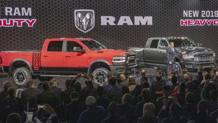 Il Ram, pick-up che vanta una capacità di carico di quasi 3500 kg
