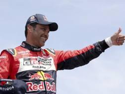 Nasser Al-Attiyah, vincitore della Dakar 2019 nelle auto. Ap