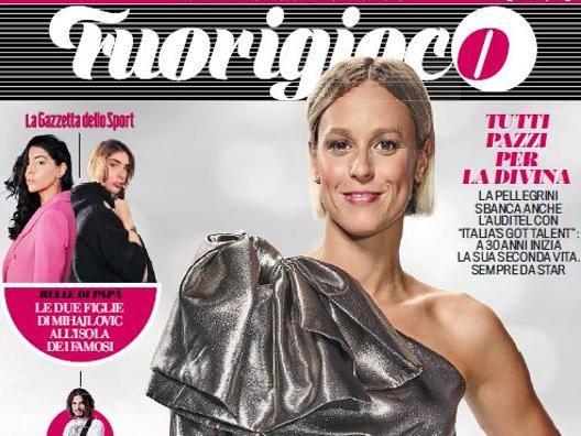 La nuova cover di Fuorigioco dedicata a Federica Pellegrini.