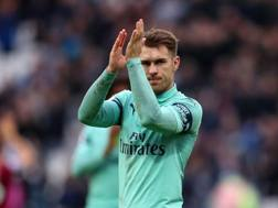 Aaron Ramsey, 28 anni, in scadenza con l'Arsenal