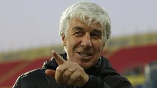 Il tecnico dell'Atalanta Gian Piero Gasperini, 60 anni
