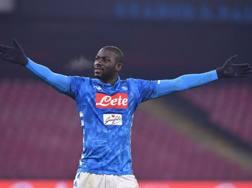 Kalidou Koulibaly, 27 anni, difensore del Napoli. Lapresse