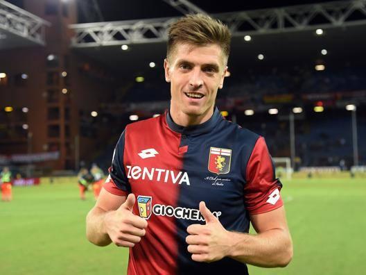 Krzysztof Piatek, attaccante del Genoa. Getty