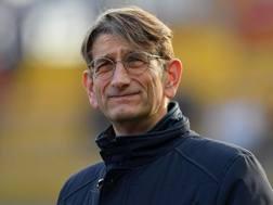 Luca Campedelli, 50 anni, presidente del Chievo. Lapresse