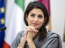 Virginia Raggi, sindaca di Roma. Imagoeconomica
