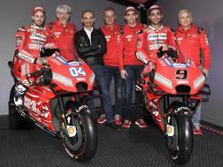 Una Ducati più rossa che mai la nuova moto per il 2019