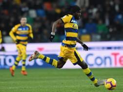 La cavalcata di Gervinho che vale il gol del 2-1, LaPresse