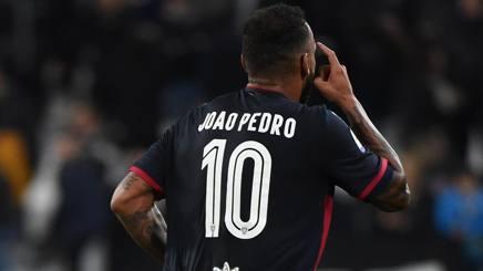 Joao Pedro, numero 10 del Cagliari. Getty