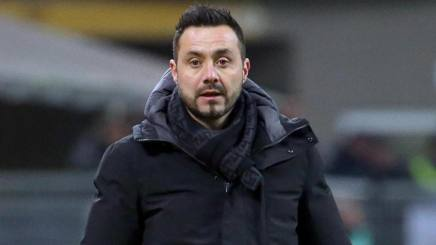 Roberto De Zerbi, tecnico del Sassuolo. Ansa