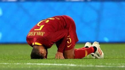 Juan Jesus, 27 anni, brasiliano, veste la maglia della  Roma dal 2016. In giallorosso 69 presenze e un gol