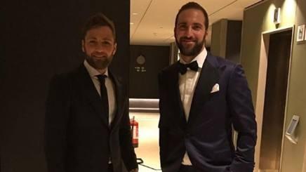 Nicolas e Gonzalo Higuain