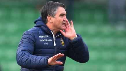 Luigi De Canio,  61 anni, allenava la Ternana dall'estate 2018. LAPRESSE