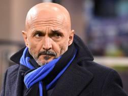 Luciano Spalletti, 59 anni, alla seconda stagione sulla panchina dell'Inter. Lapresse
