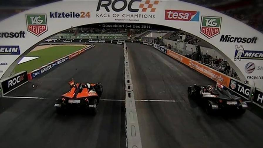 Race of Champions al via In pista Vettel-Schumi jr