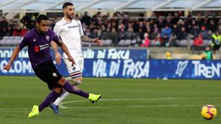 Luis Muriel, 27 anni, in prestito dal Siviglia alla Fiorentina. Getty